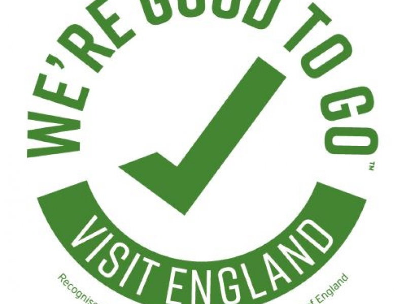 We're Good to Go! - Visit England industry mark